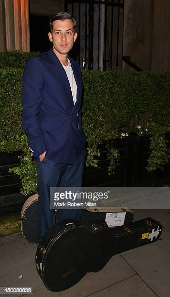 Mark Ronson attending The Other Ball on June 4 2014 in London England