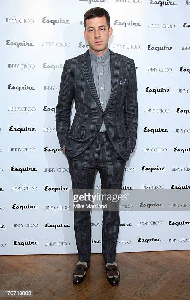 Mark Ronson attends a party hosted by Jimmy Choo & Esquire during the London Collections SS14 on June 16, 2013 in London, England.