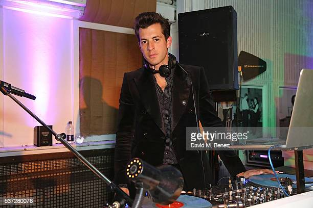 Mark Ronson attends End of Silence charity event at Abbey Road Studios in aid of Hope and Homes for children on June 1 2016 in London England