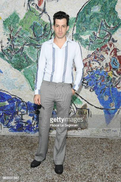 Mark Ronson attends Louis Vuitton 2019 Cruise Collection at Fondation Maeght on May 28 2018 in SaintPaulDeVence France