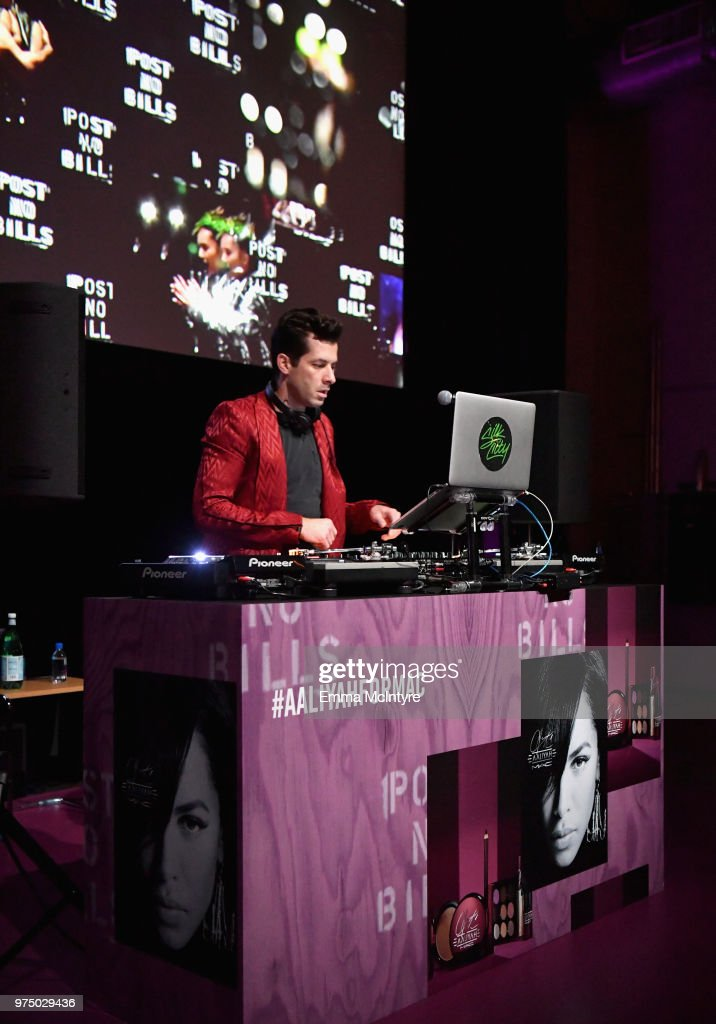 DJ Mark Ronson attends MAC Cosmetics Aaliyah Launch Party on June 14, 2018 in Hollywood