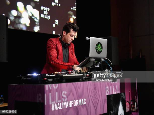 Mark Ronson attends MAC Cosmetics Aaliyah Launch Party on June 14 2018 in Hollywood California