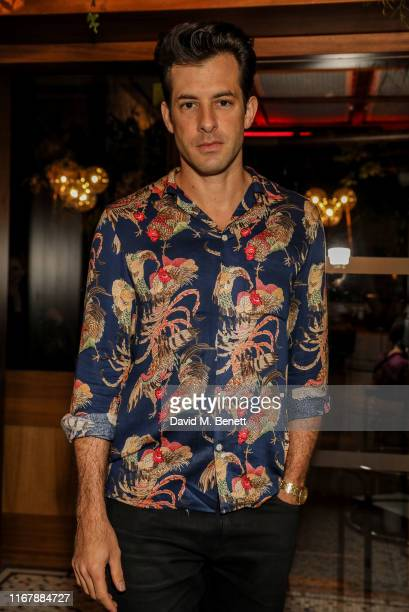 Mark Ronson attends Peggy Gou and Browns private dinner at Double Standard The Standard to celebrate Kirin FW19 on September 13 2019 in London England