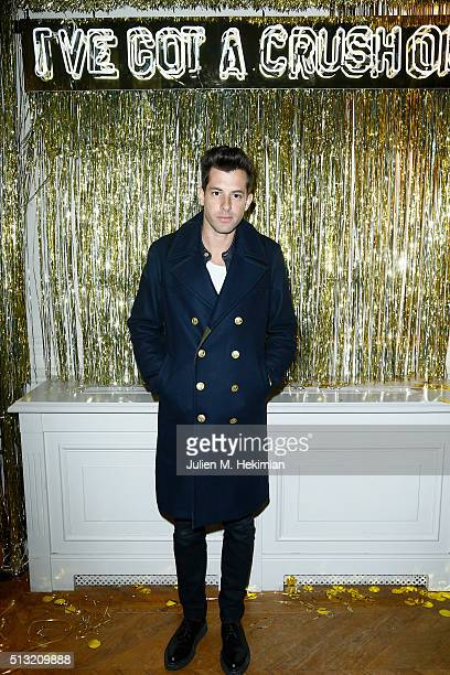 Mark Ronson attends Prom 2016 Party hosted by Coach for the Paris Flagship opening as part of the Paris Fashion Week Womenswear Fall/Winter 2016/2017...