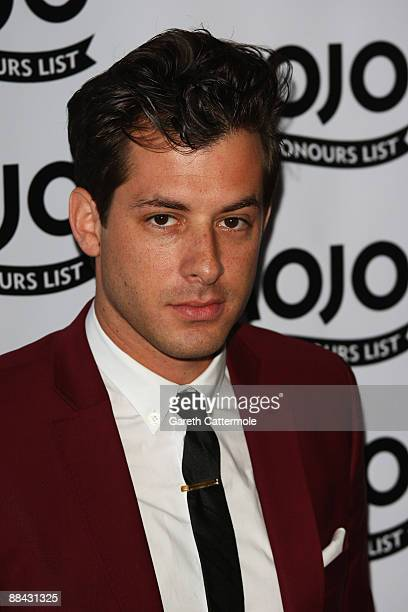 Mark Ronson attends the 2009 MOJO Honours List at The Brewery on June 11 2009 in London England