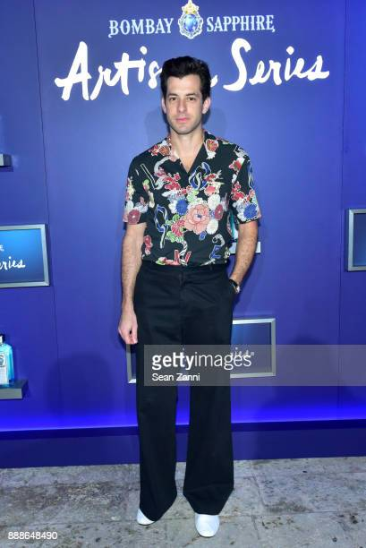 Mark Ronson attends the 8th Annual Bombay Sapphire Artisan Series Finale Hosted By Issa Rae at Villa Casa Casuarina on December 8 2017 in Miami Beach...