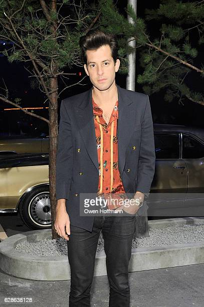 Mark Ronson attends the Coach 75th Anniversary Women's PreFall and Men's Fall Show Front Row on December 8 2016 in New York City