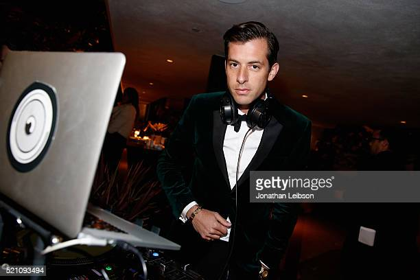 Mark Ronson attends the launch of the Parker Institute for Cancer Immunotherapy an unprecedented collaboration between the country's leading...
