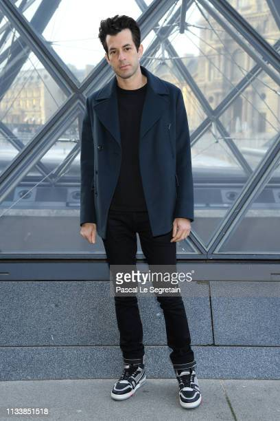 Mark Ronson attends the Louis Vuitton show as part of the Paris Fashion Week Womenswear Fall/Winter 2019/2020 on March 05 2019 in Paris France