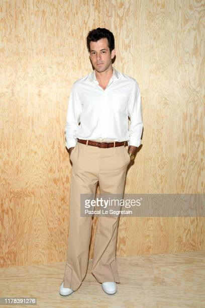 Mark Ronson attends the Louis Vuitton Womenswear Spring/Summer 2020 show as part of Paris Fashion Week on October 01 2019 in Paris France