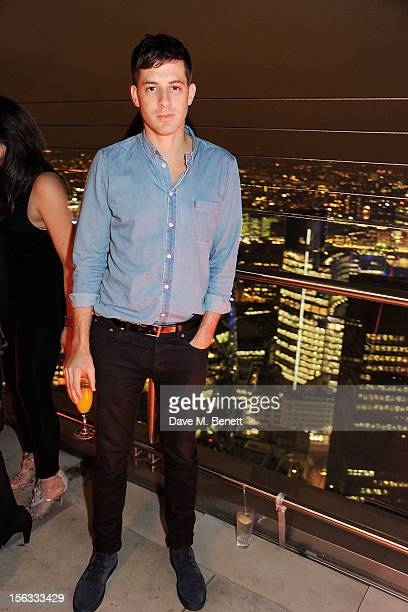 Mark Ronson attends the opening of new restaurant SushiSamba London in Heron Tower on November 13 2012 in London England