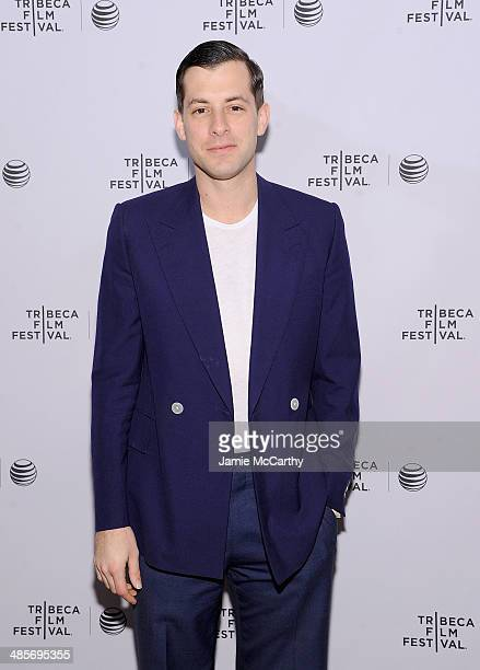 Mark Ronson attends the premiere of Zombeavers during the 2014 Tribeca Film Festival at Chelsea Bow Tie Cinemas on April 19 2014 in New York City