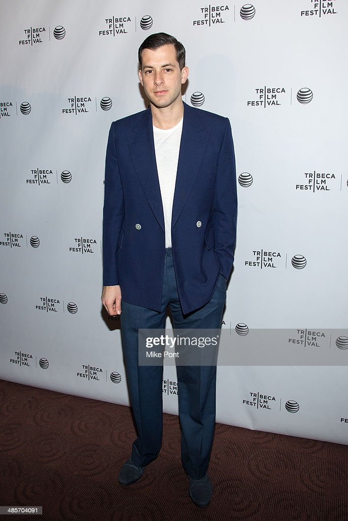 Mark Ronson attends the premiere of 'Zombeavers' during the 2014 Tribeca Film Festival at Chelsea Bow Tie Cinemas on April 19, 2014 in New York City.
