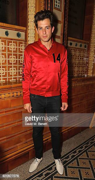 Mark Ronson attends the STYLE x PRINCIPAL Party at The Principal Manchester on November 3 2016 in Manchester England