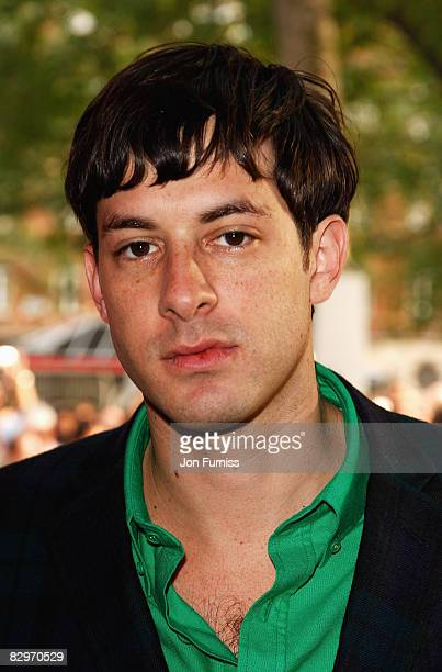 Mark Ronson attends the UK Premiere of 'Righteous Kill' held at the Empire Leicester Square on September 14 2008 in London England