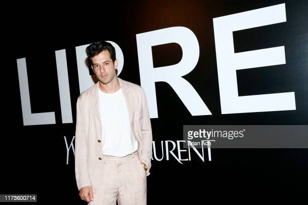 Mark Ronson attends the YSL Beauty LIBRE Launch on September 09 2019 in New York City