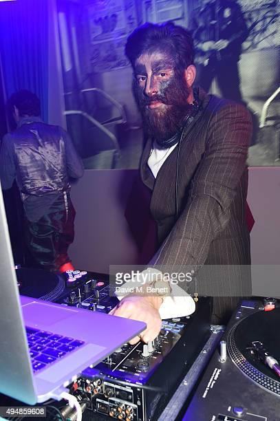 Mark Ronson DJs at The Unicef UK Halloween Ball raising vital funds to support Unicef's lifesaving work for Syrian children in danger at One Mayfair...