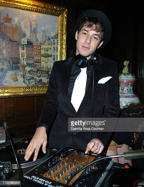 Mark Ronson during Jimmy Fallon's Birthday Party - September 24, 2005 at The National Arts Club in New York City, New York, United States.