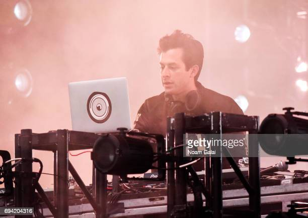 Mark Ronson performs during 2017 Governors Ball Music Festival Day 2 at Randall's Island on June 3 2017 in New York City