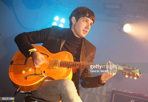 Mark Ronson performs on stage during The Diesel xXx Creative Experiment Party as Diesel celebrates its 30th Birthday at Matter in the O2 Arena on...