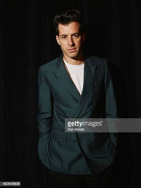 Mark Ronson plays for Nova's Red Room at Marquee Nightclub on February 2 2015 in Sydney Australia