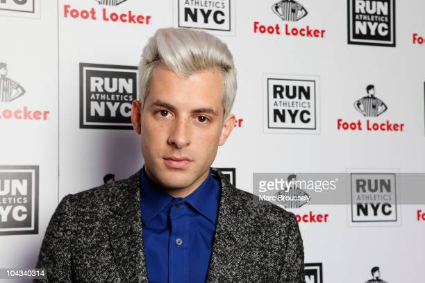 Mark Ronson poses for portraits at Aqua Kyoto to celebrate the launch of Foot Locker's RUN NYC collection by Rev Run on September 21 2010 in London...