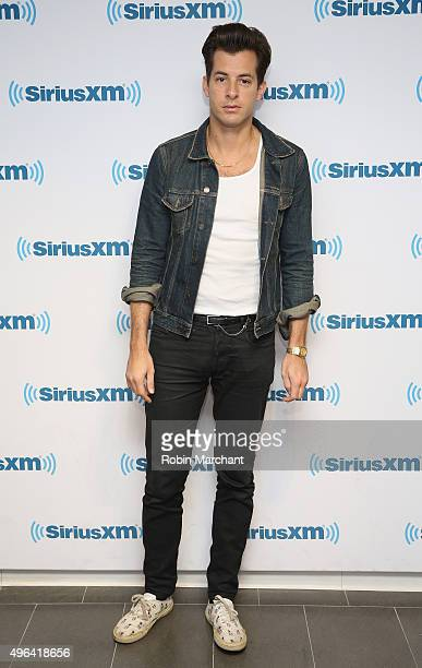Mark Ronson visits at SiriusXM Studios on November 6 2015 in New York City