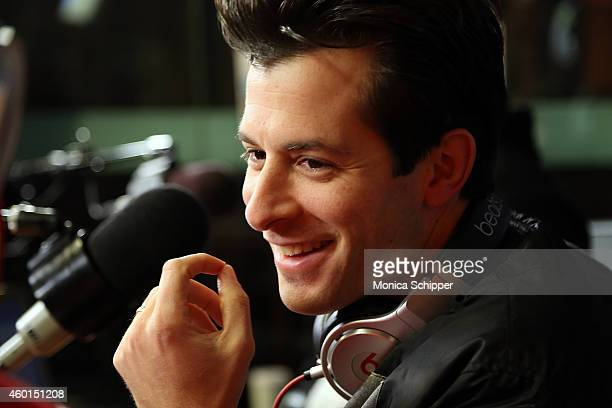Mark Ronson visits SiriusXM Studios on December 8 2014 in New York City