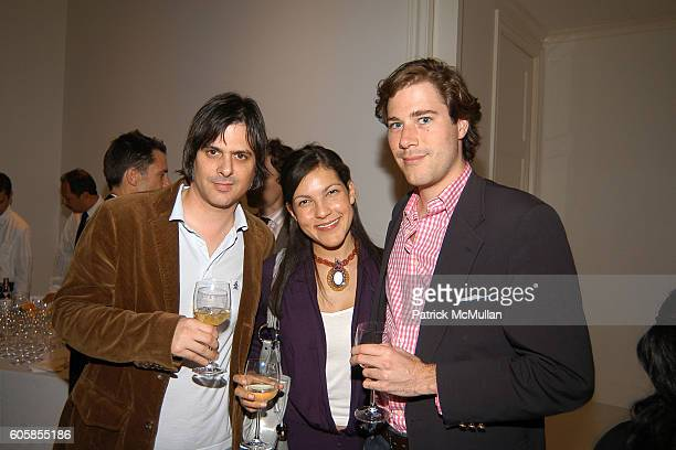 Mark Rozzo Sloane Crosley and Hudson Morgan attend Book Party for A DRUNKARDS TALE By TOM SYKES at The Home of Julie and Lucas Janklow on October 12...