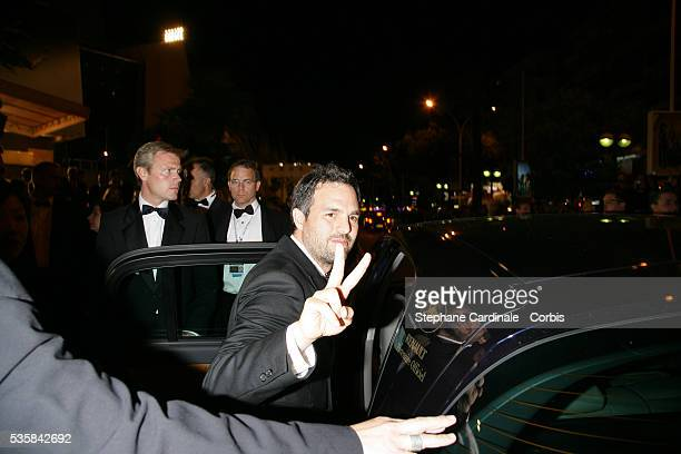 Mark Ruffalo after the premiere of 'Zodiac' during the 60th Cannes Film Festival