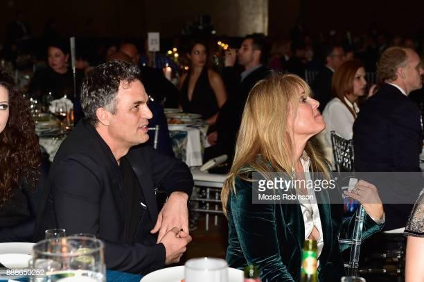 Mark Ruffalo and Laura Turner Seydel attend the 2017 Captain Planet Foundation Gala at InterContinental Hotel Buckhead Atlanta on December 8 2017 in...