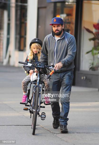Mark Ruffalo and Odette Ruffalo are seen in the West Village at Streets of Manhattan on October 16 2012 in New York City