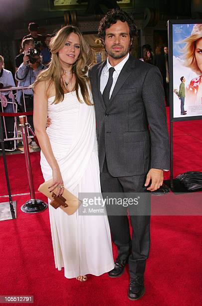 Mark Ruffalo and wife Sunrise Ruffalo during Just Like Heaven Los Angeles Premiere Arrivals at Grauman's Chinese Theatre in Hollywood California...