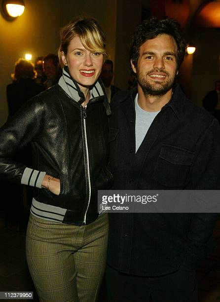 Mark Ruffalo and wife Sunshine at the premire of the film XX/XY