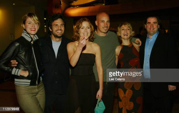 Mark Ruffalo and wife Sunshine Kathleen Robertson Austin Chick Petra Wright and Greg Forstoy at the premire of the film XX/XY