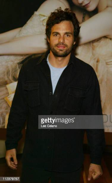 Mark Ruffalo at the premire of the film XX/XY during Premiere of XX/XY at Laemmle Sunset 5 Theater in Hollywood California United States