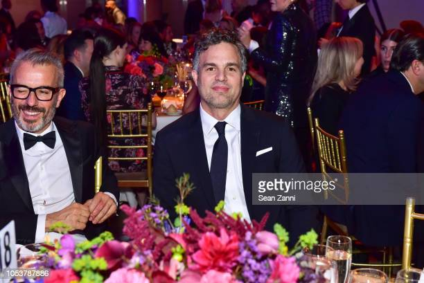 Mark Ruffalo attends Fashion Group International Night Of Stars 2018 at Cipriani Wall Street on October 25 2018 in New York City