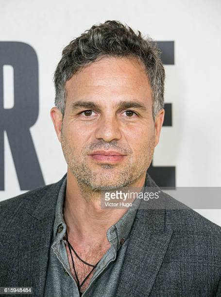 Mark Ruffalo attends National Geographic Channel Hosts the New York City Premiere of 'Before the Flood' at United Nations on October 20 2016 in New...