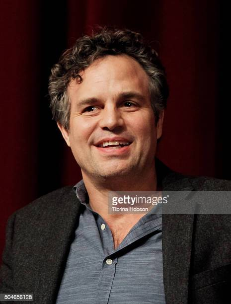 Mark Ruffalo attends SAGAFTRA Foundation Conversations Series for 'Spotlight' at DGA Theater on January 11 2016 in Los Angeles California