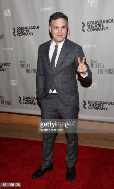 Mark Ruffalo attends the Broadway Opening Night performance After Party for the Roundabout Theatre Production of 'The Price' at the American Airlines...