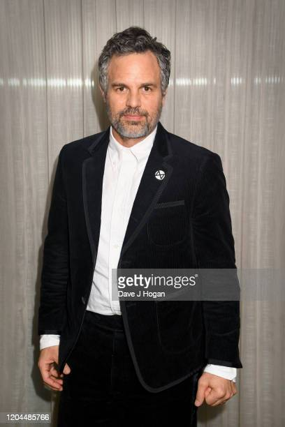 Mark Ruffalo attends the Dark Waters Photocall at White City House on February 06 2020 in London England