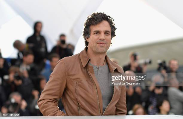 Mark Ruffalo attends the Foxcatcher photocall during the 67th Annual Cannes Film Festival on May 19 2014 in Cannes France