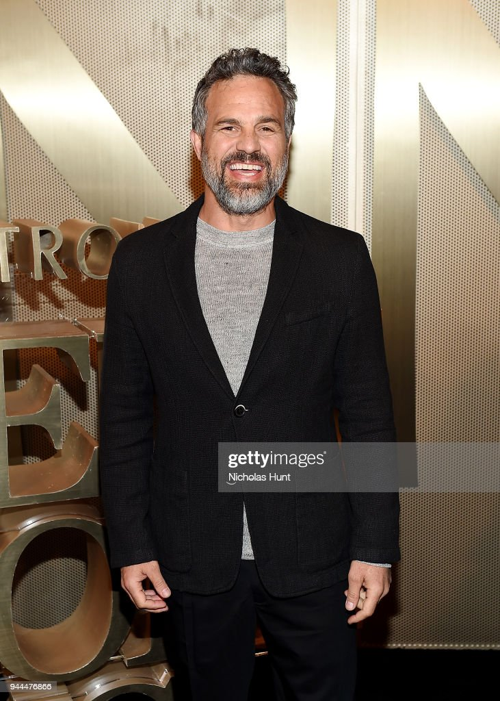 Mark Ruffalo attends the Nordstrom Men's NYC Store Opening on April 10, 2018 in New York City.