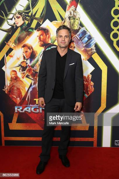 Mark Ruffalo attends the Thor Ragnarok Sydney Screening Event on October 15 2017 in Sydney Australia