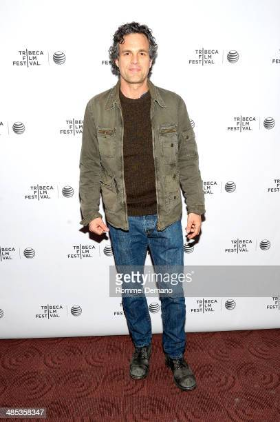 """Mark Ruffalo attends the """"Virunga"""" Premiere during the 2014 Tribeca Film Festival at Chelsea Bow Tie Cinemas on April 17, 2014 in New York City."""