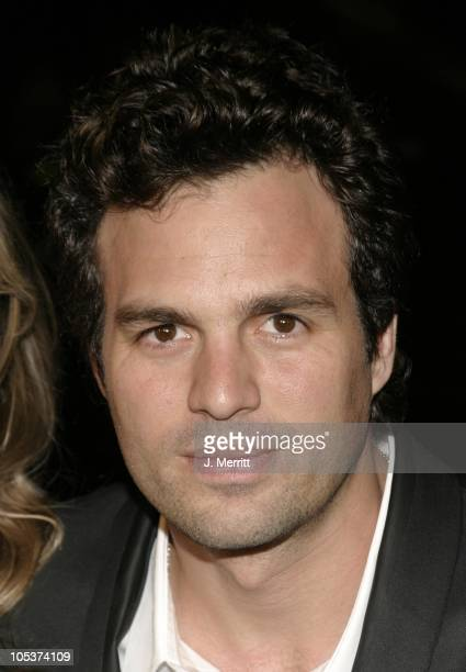 Mark Ruffalo during 'Eternal Sunshine of the Spotless Mind' World Premiere at The Samuel GoldwynTheater in Beverly Hills California United States