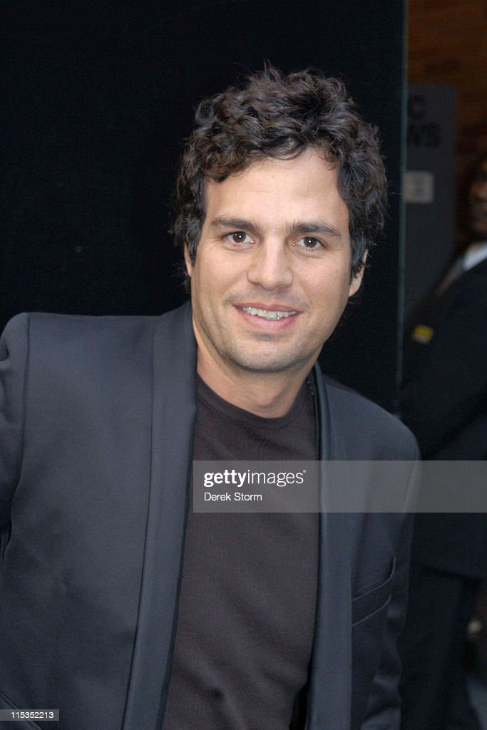 Mark Ruffalo during Queen Silvia of Sweden and Mark Ruffalo Outside 'Good Morning America' Studios at 'Good Morning America' Studios in New York City, New York, United States.