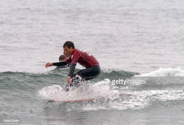 Mark Ruffalo during Rip Curl Presents Sand Glam Benefitting Heal the Bay Celebrity Surfing Competition at Malibu Surfrider Point in Malibu California...