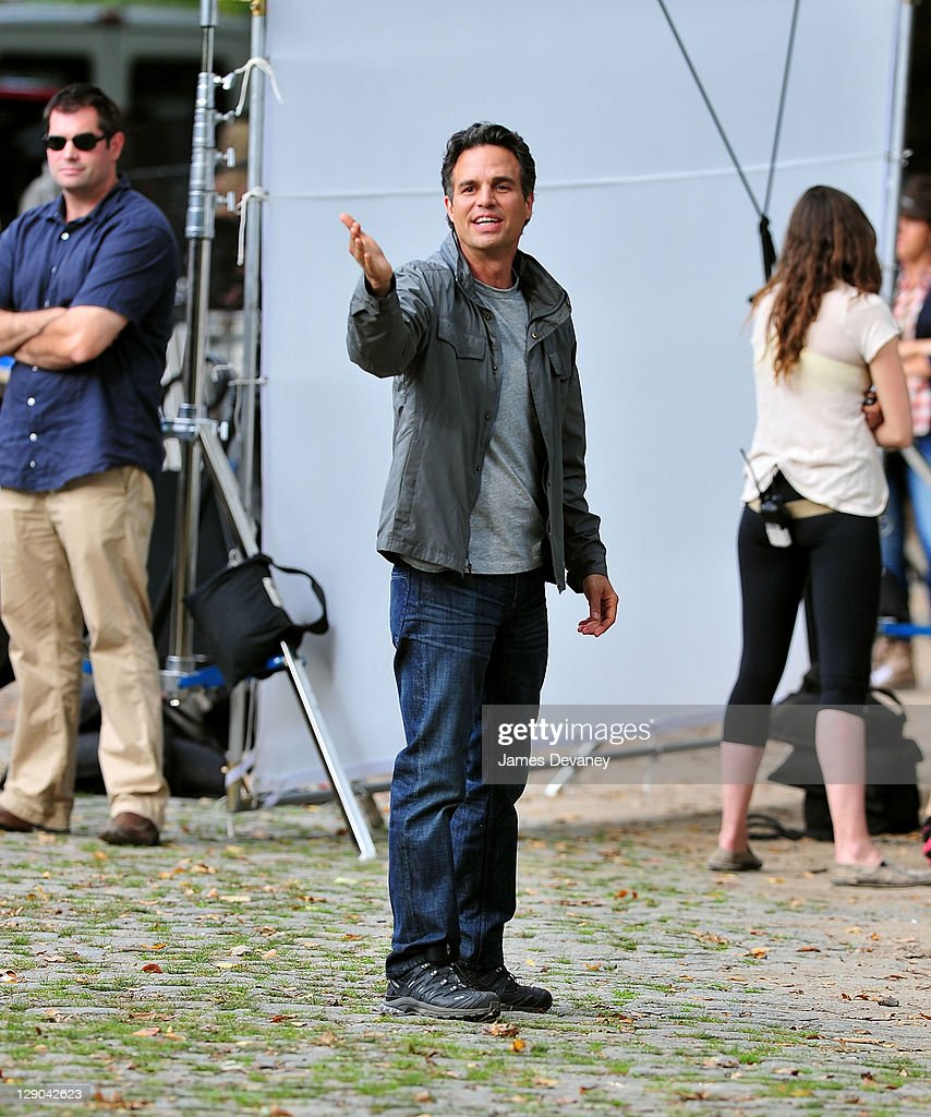 c1a350959d7 Mark Ruffalo filming on location of  Thanks for Sharing  on October ...