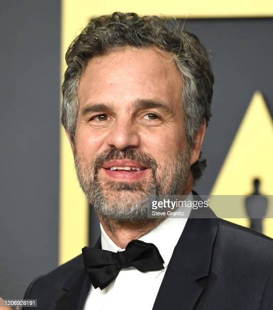 Mark Ruffalo poses at the 92nd Annual Academy Awards at Hollywood and Highland on February 09, 2020 in Hollywood, California.